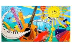 Crescendo Kids Classroom Mural
